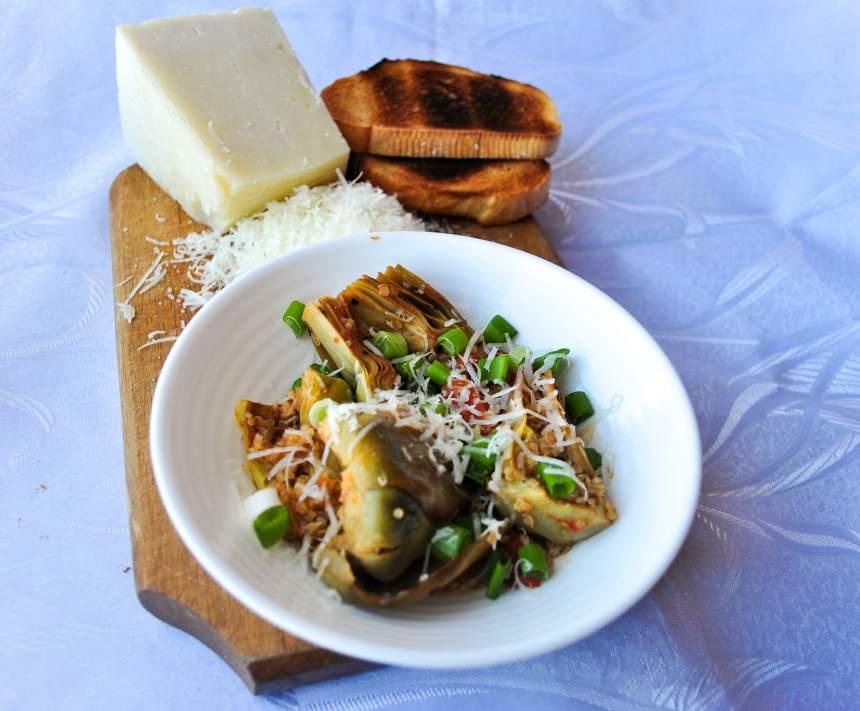 R4. Salată de inimi de anghinare cu quinoa 2-min