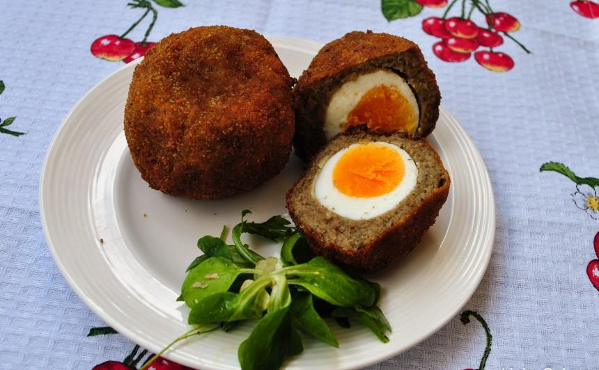 Ouă scoțiene vegetariene 2