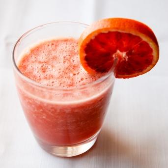Suc de morcovi cu portocale rosii si grapefruit