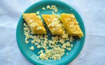 Prăjitură cu ciocolată albă și nucă de cocos 6